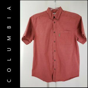 Columbia Button Front Plaid & Check Dress Shirt